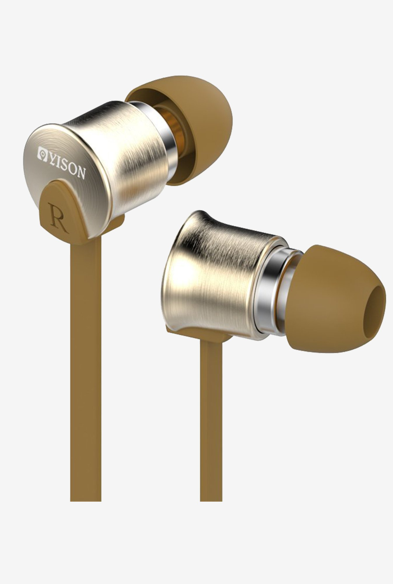 GranVela EX700 Stereo Metal In-Ear Earphone (Brown)