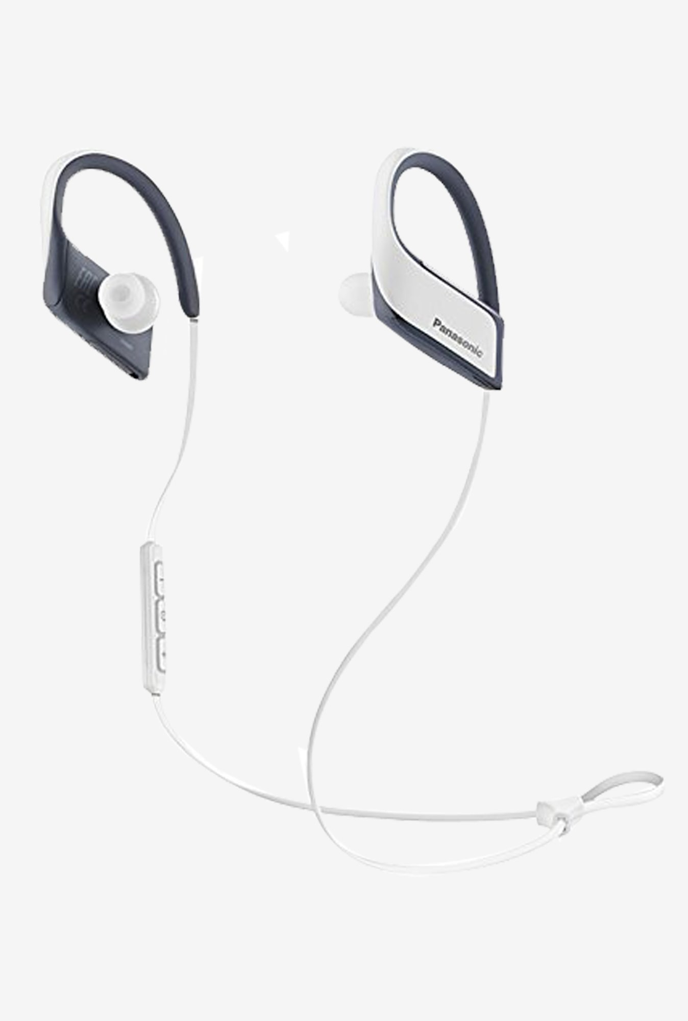 Panasonic RP-BTS30-W Sport Clip Headphone (White)