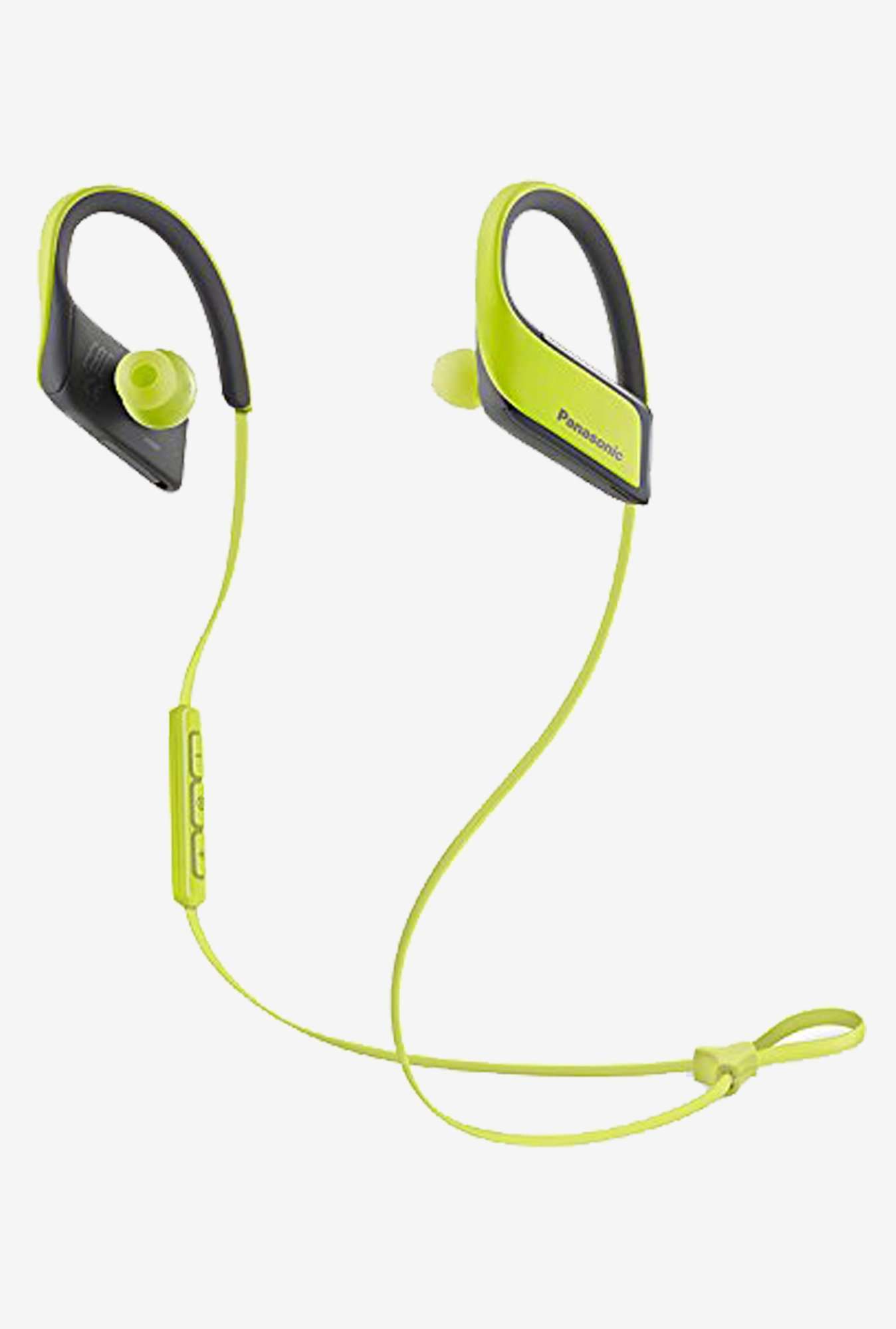 Panasonic RP-BTS30-Y 3D Flex In the Ear Headphone (Yellow)