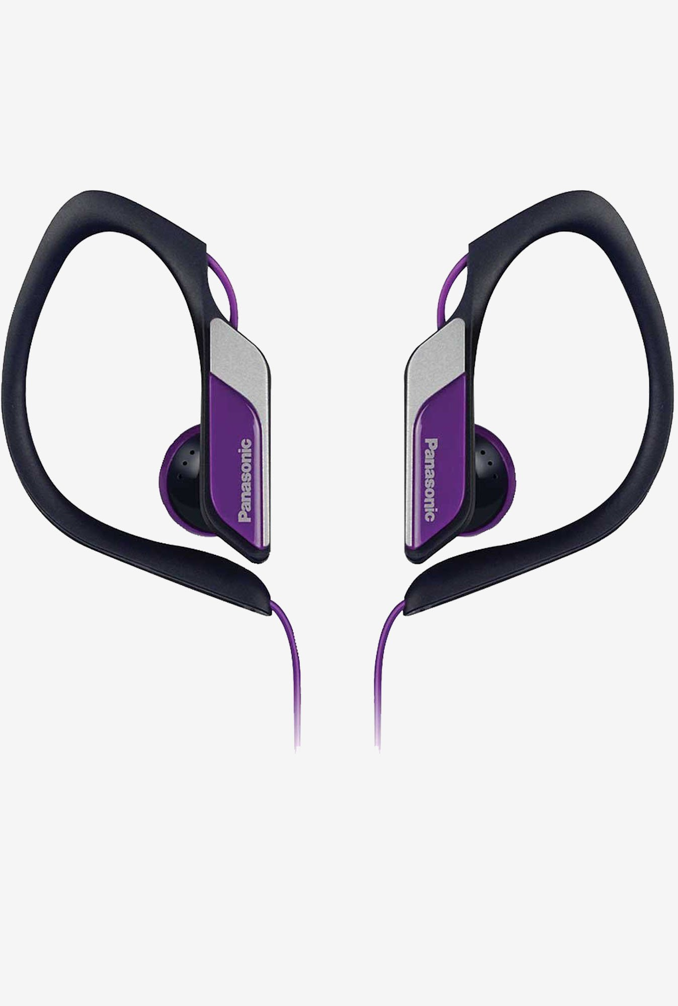 Panasonic Lightweight Sweat Proof Active Headphones (Violet)