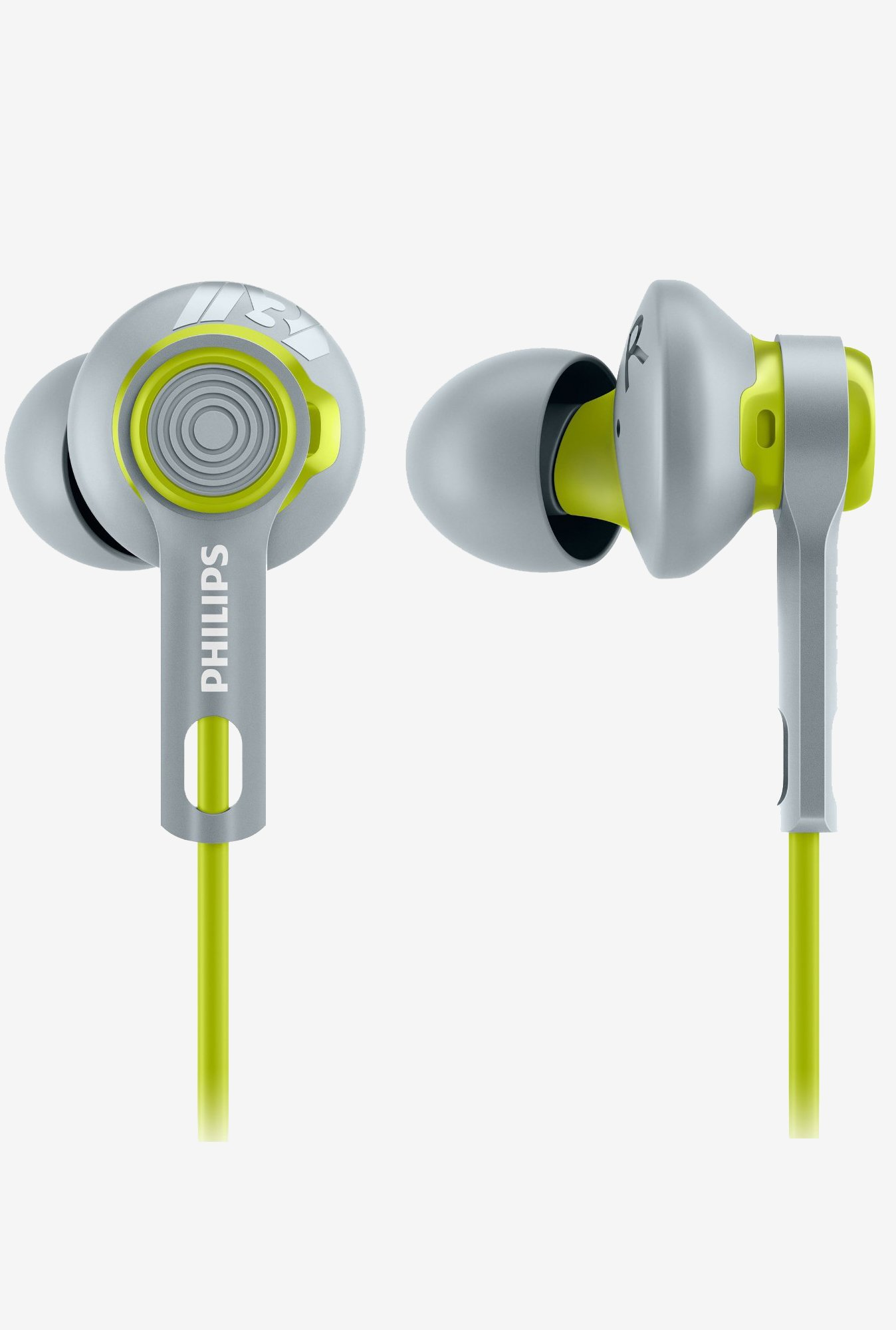 Philips SHQ2300LF/00 ActionFit Sports Headphones (Yellow)