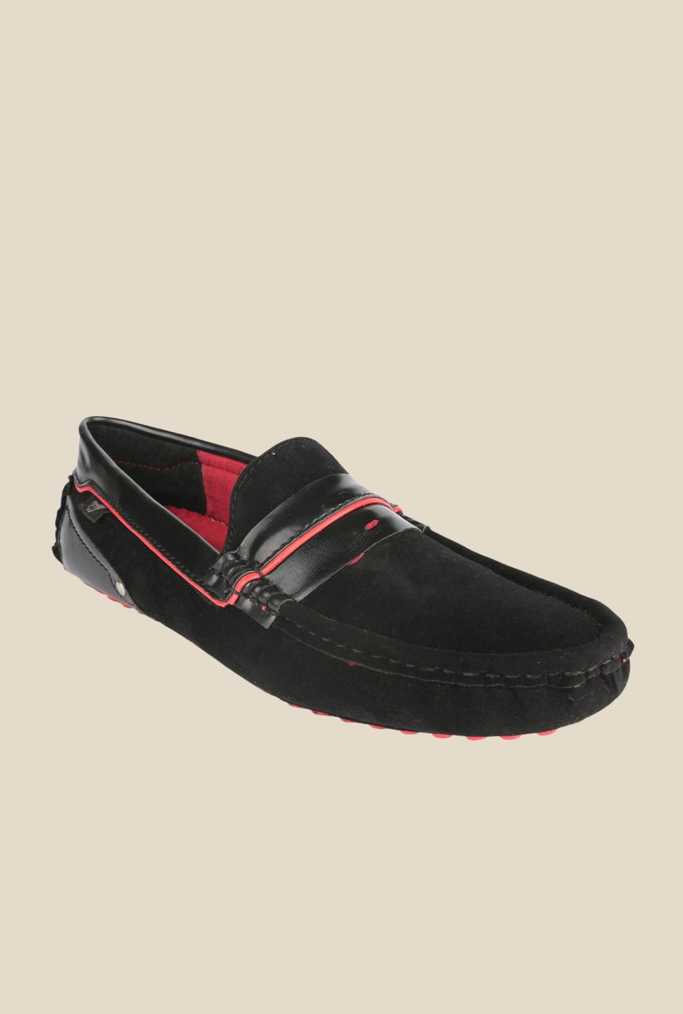 Wega Life Eliseo Black Loafers