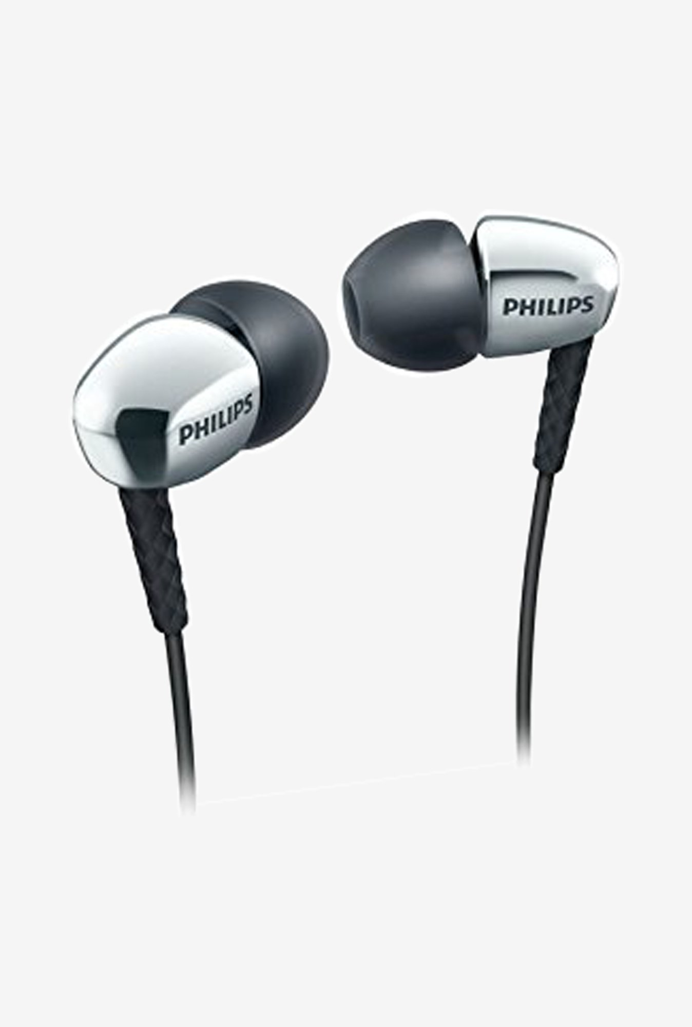 Philips SHE3905SL Headphones (Silver)