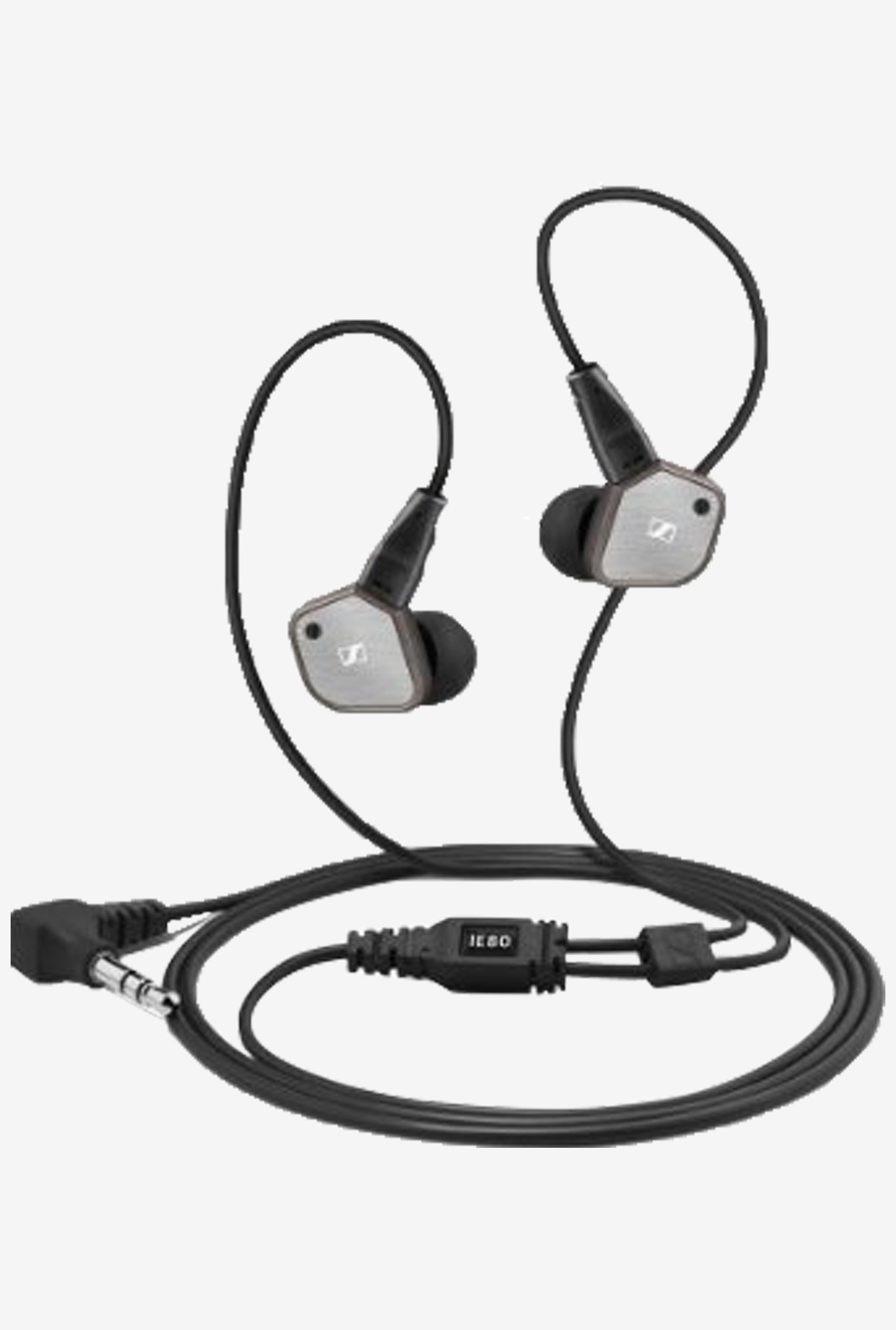 Sennheiser IE 80 In-Ear Headphone (Black)