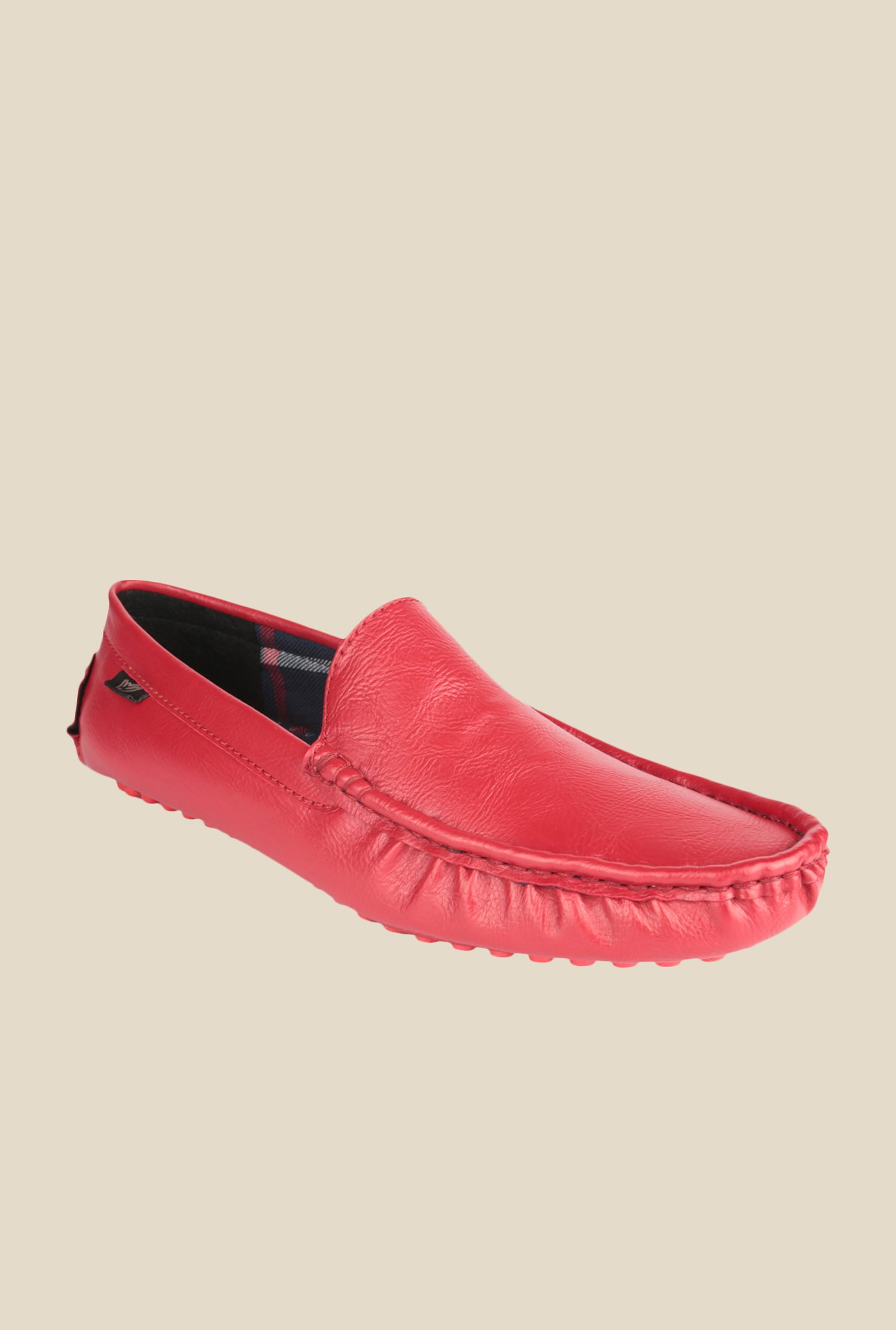 Wega Life Febe Red Loafers