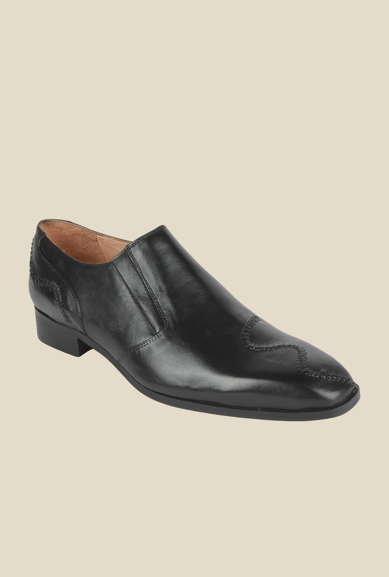 Salt 'n' Pepper Arman Black Formal Shoes