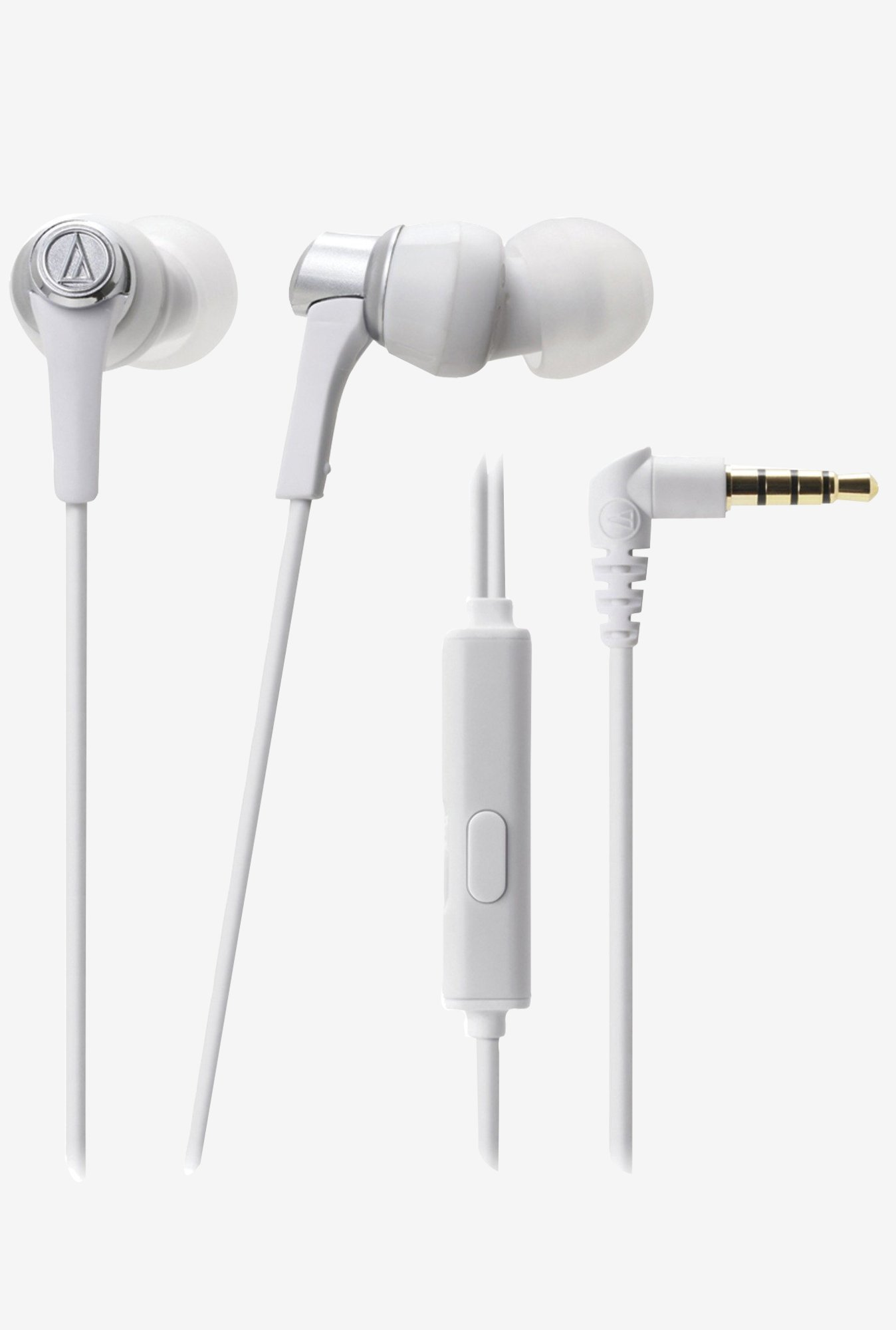 Audio-Technica ATH-CKR3iS SonicPro In The Ear (White)