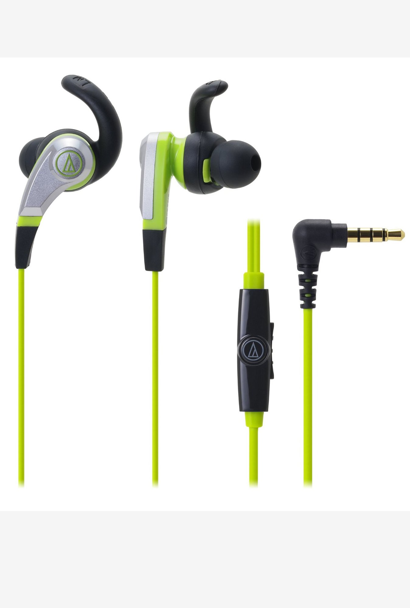 Audio-Technica ATH-CKX5iS SonicFuel In The Ear (Green)