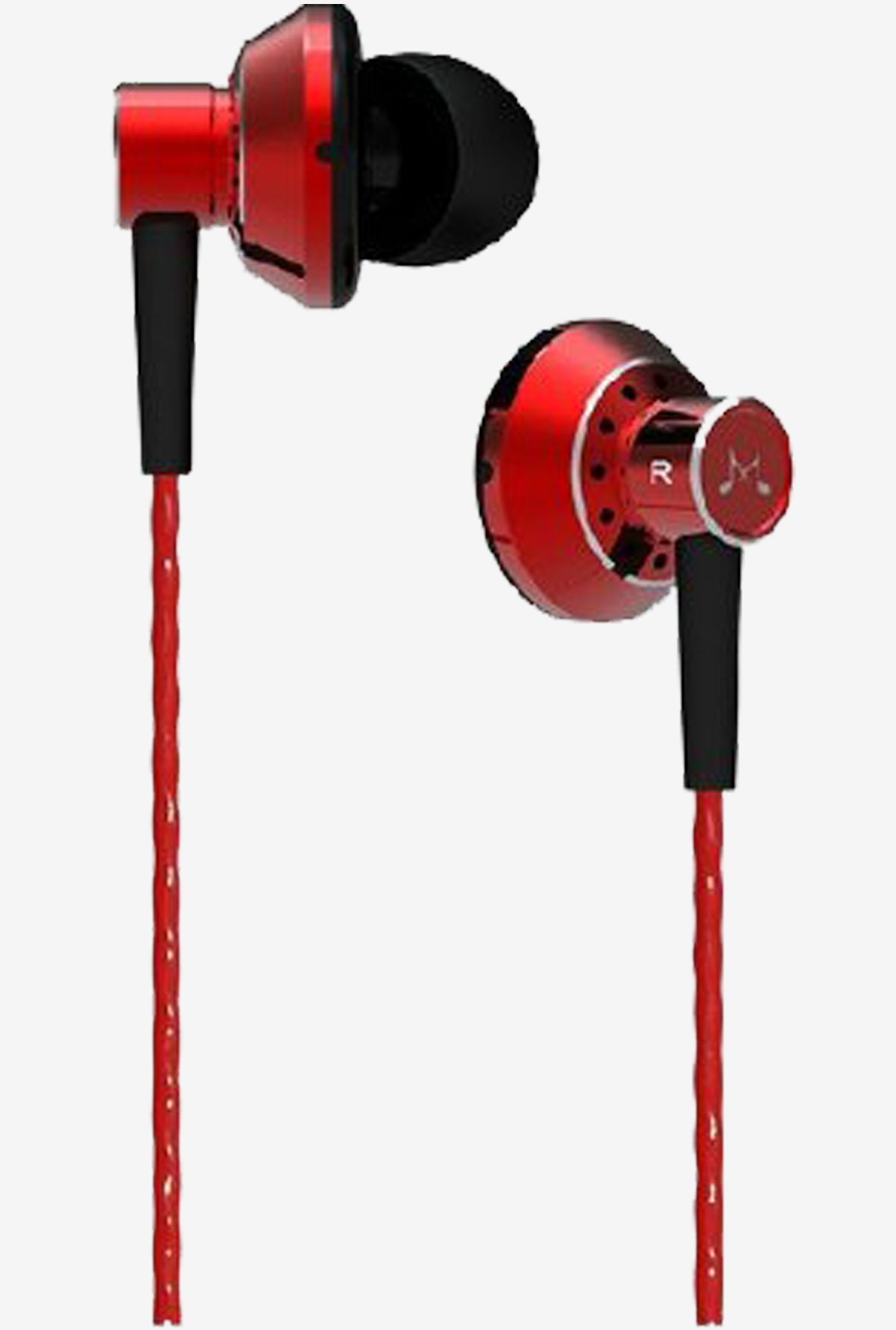 SoundMagic ES20 In the Ear Headphones (Red)