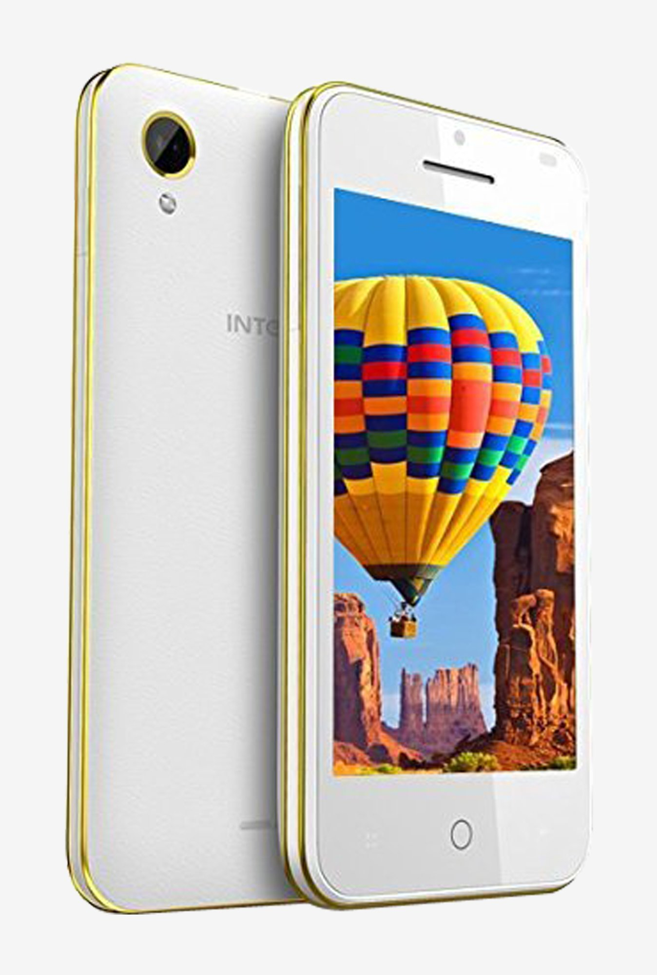 Intex Aqua Y2 Power HD Palyback Autocall Record (White)