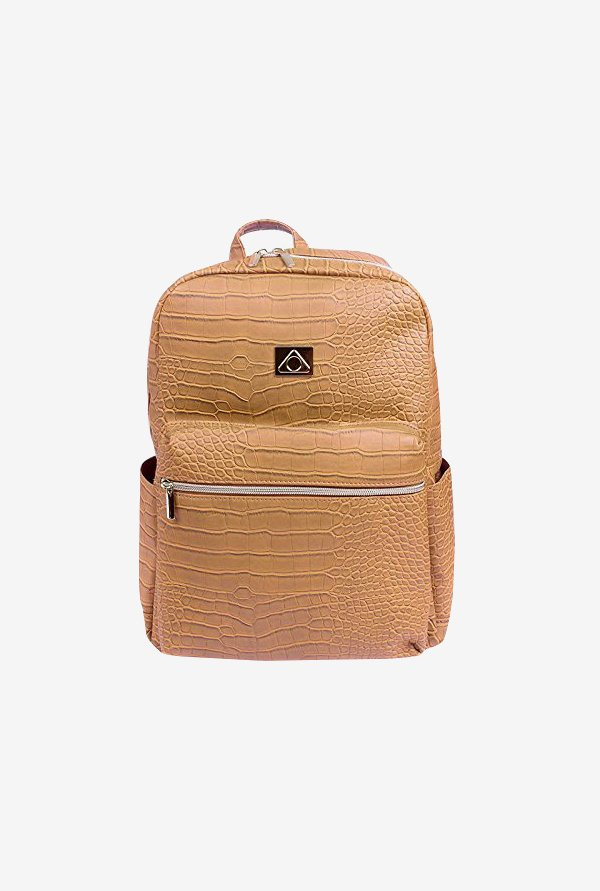 "Stuffcool Perse Fashion Backpack for 14"" Laptop (Beige)"