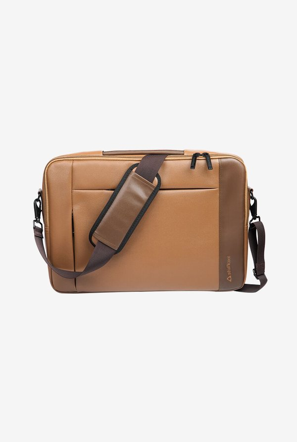 "Stuffcool Travail Backpack for 13"" Macbook & Laptop (Brown)"