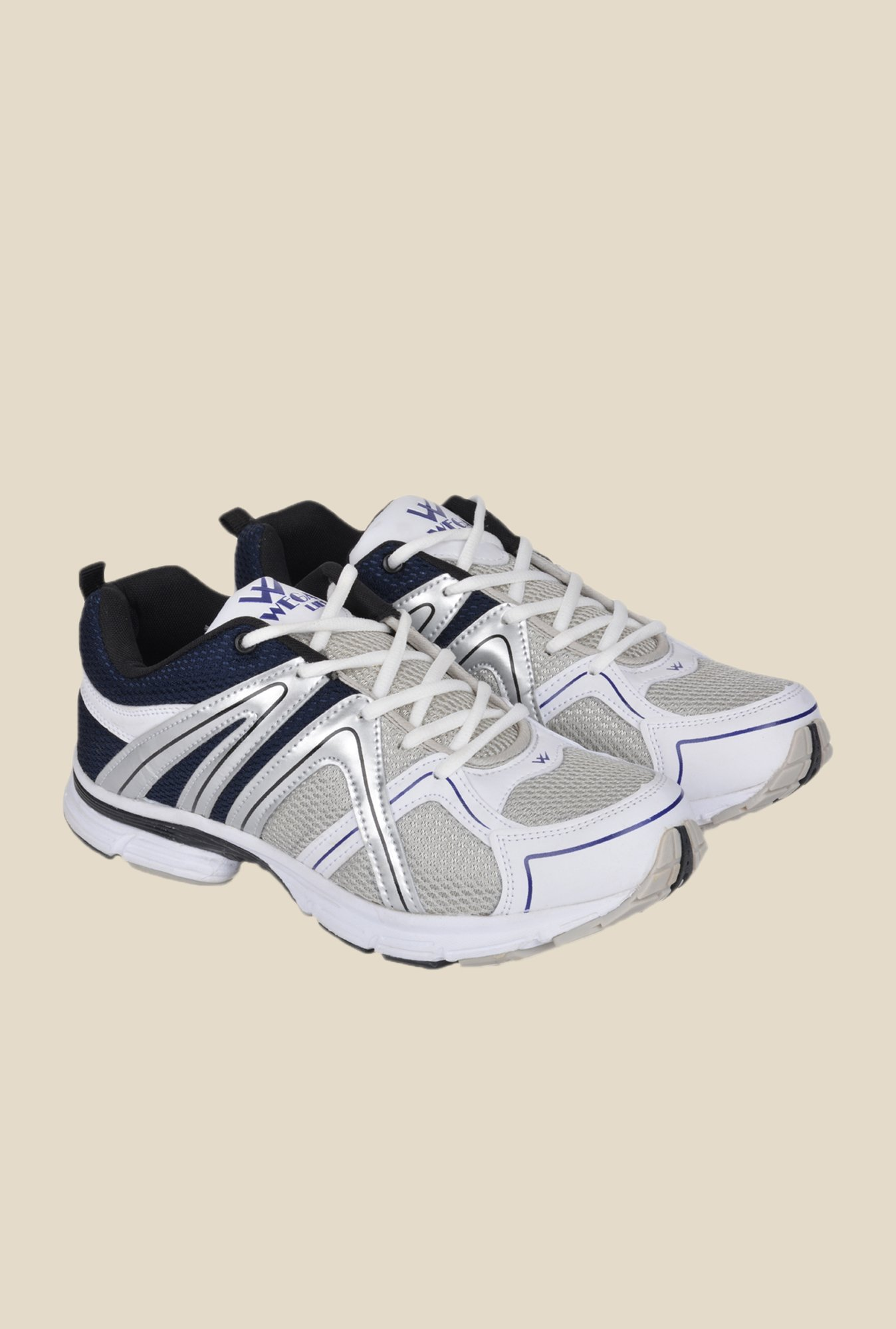 Wega Life Xplore Grey & Navy Running Shoes