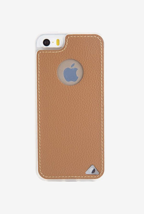 Stuffcool Levog Back Case for Apple iPhone 5/5S/SE (Brown)