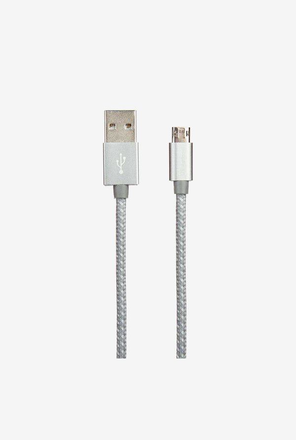 Stuffcool MIREV-GRY 1.5 m USB Cable (Grey)