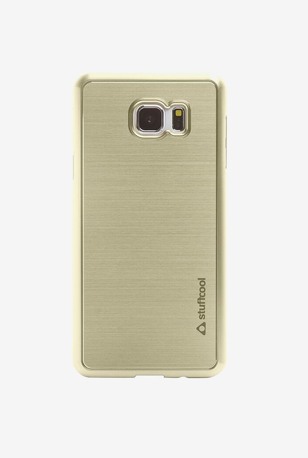 Stuffcool Deco Back Case for Samsung Galaxy Note 5 (Gold)