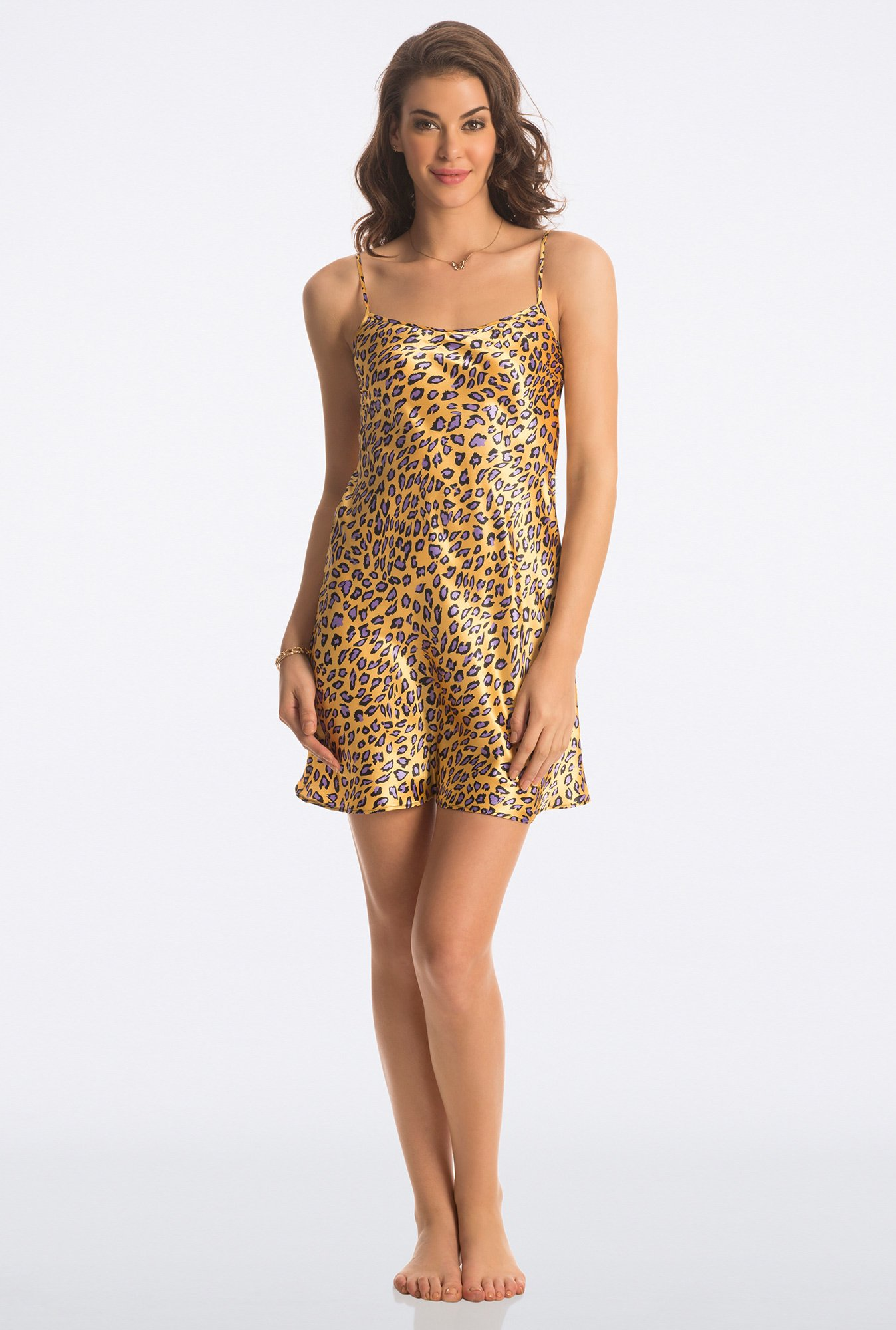 Pretty Secrets Yellow All day Lounge Chemise