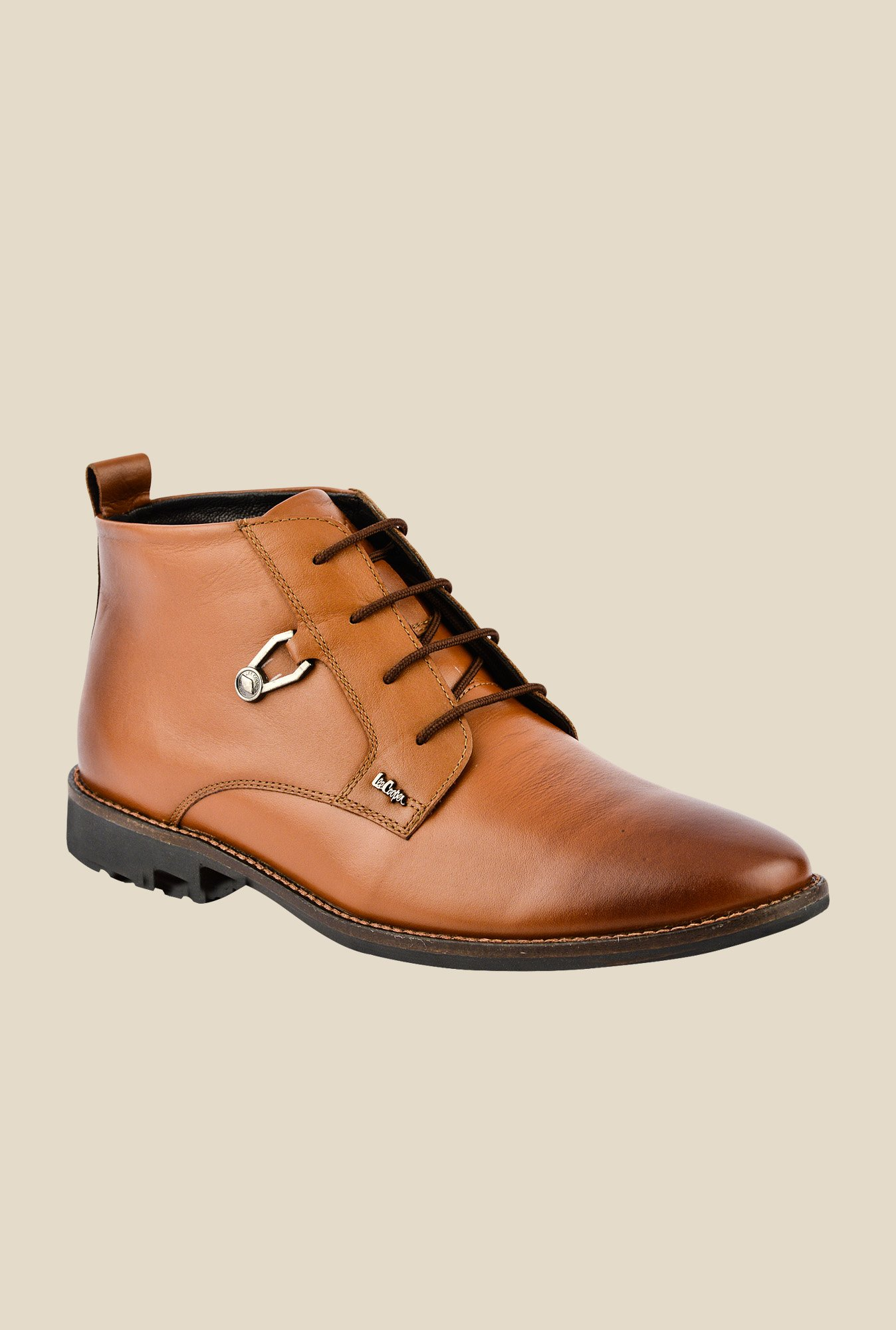 Lee Cooper Tan Formal Boots