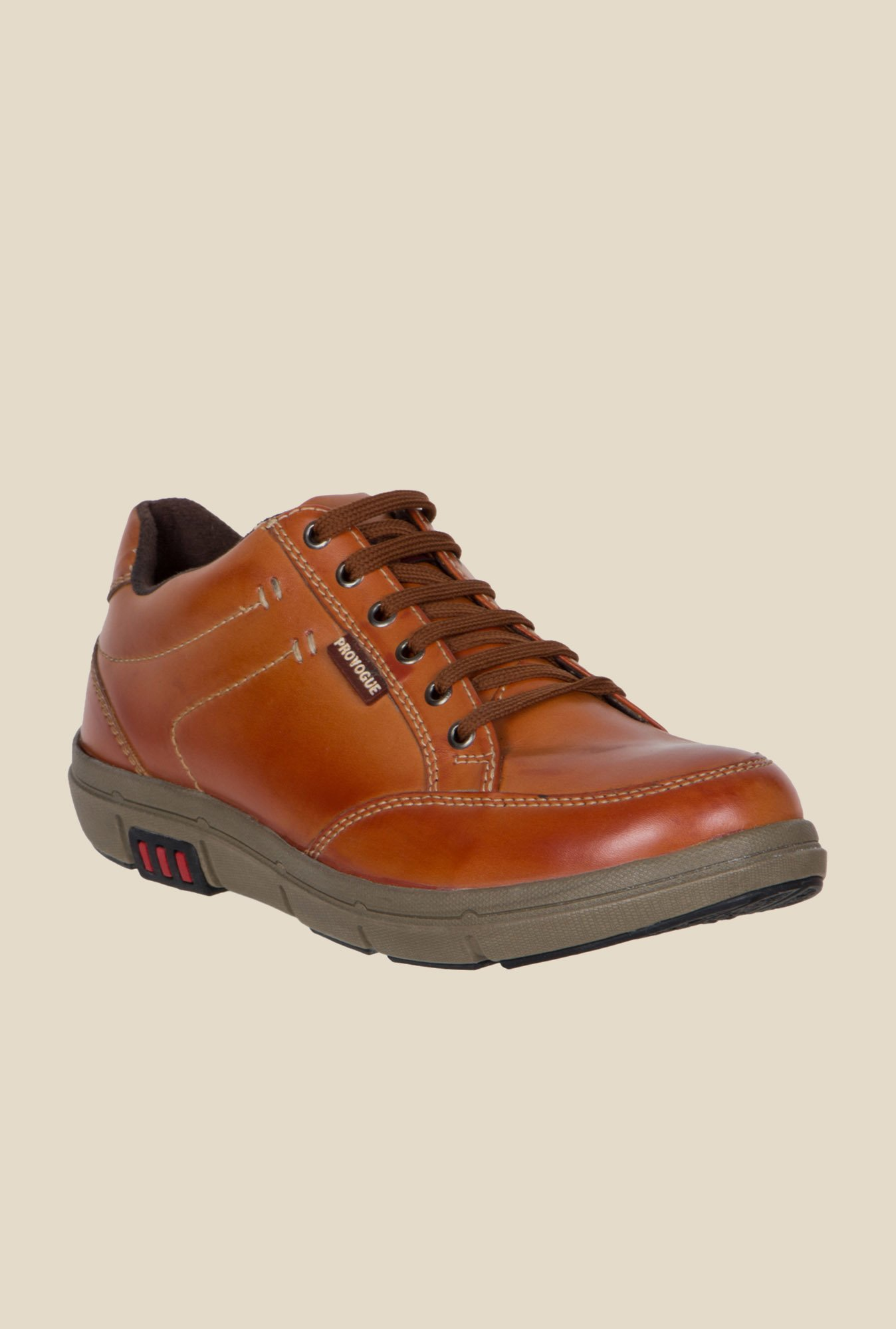 Provogue Tan Casual Shoes