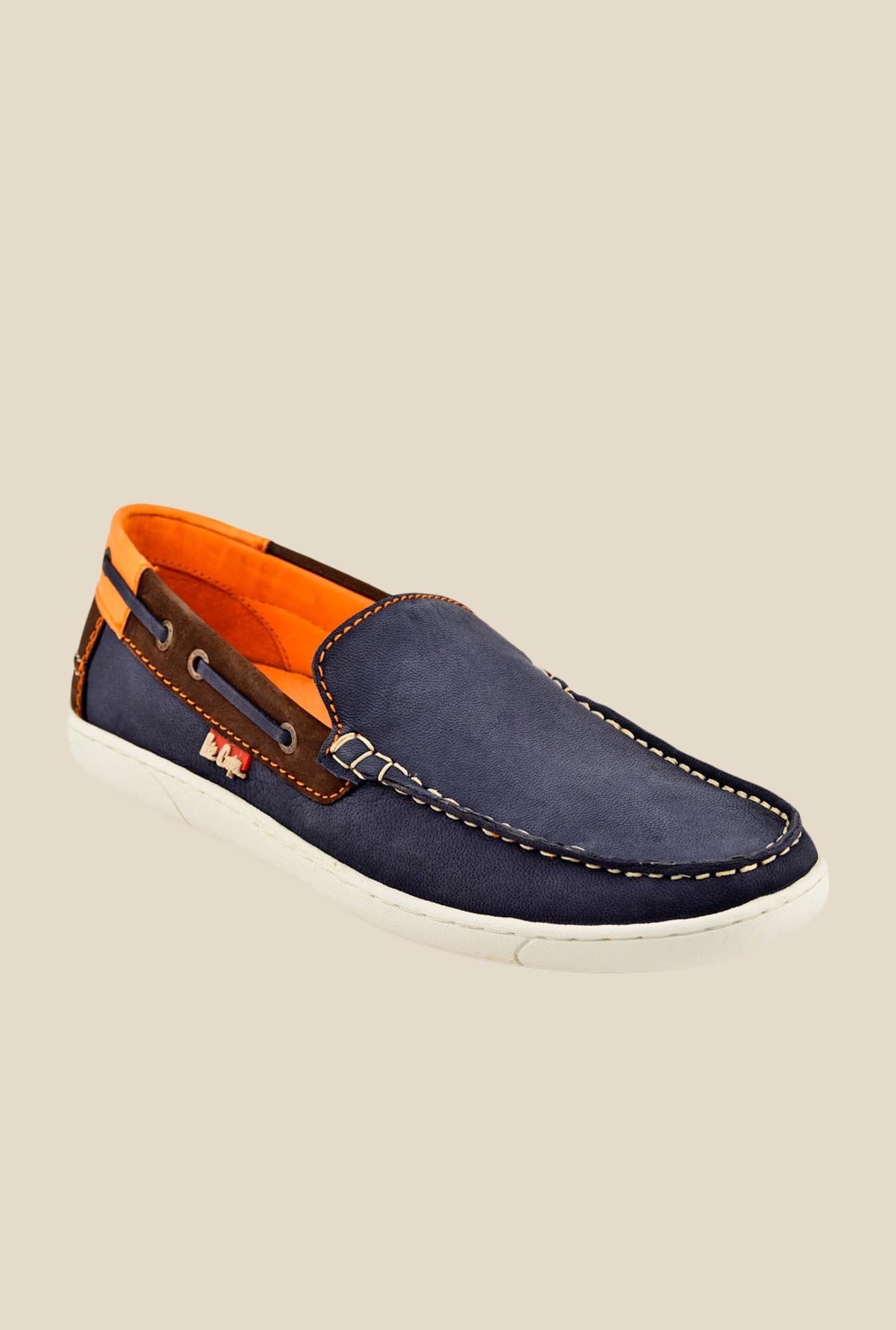 Lee Cooper Navy Casual Loafers