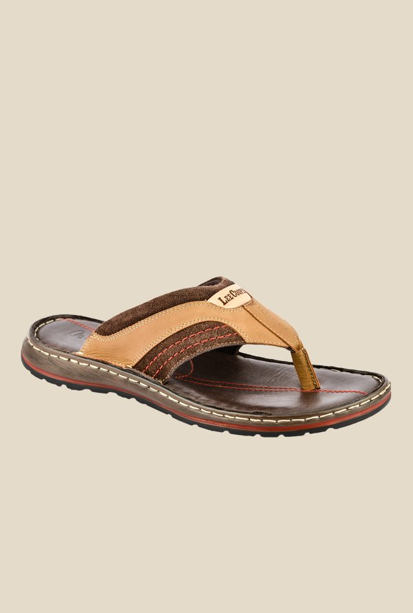 Lee Cooper Tan Thong Sandals