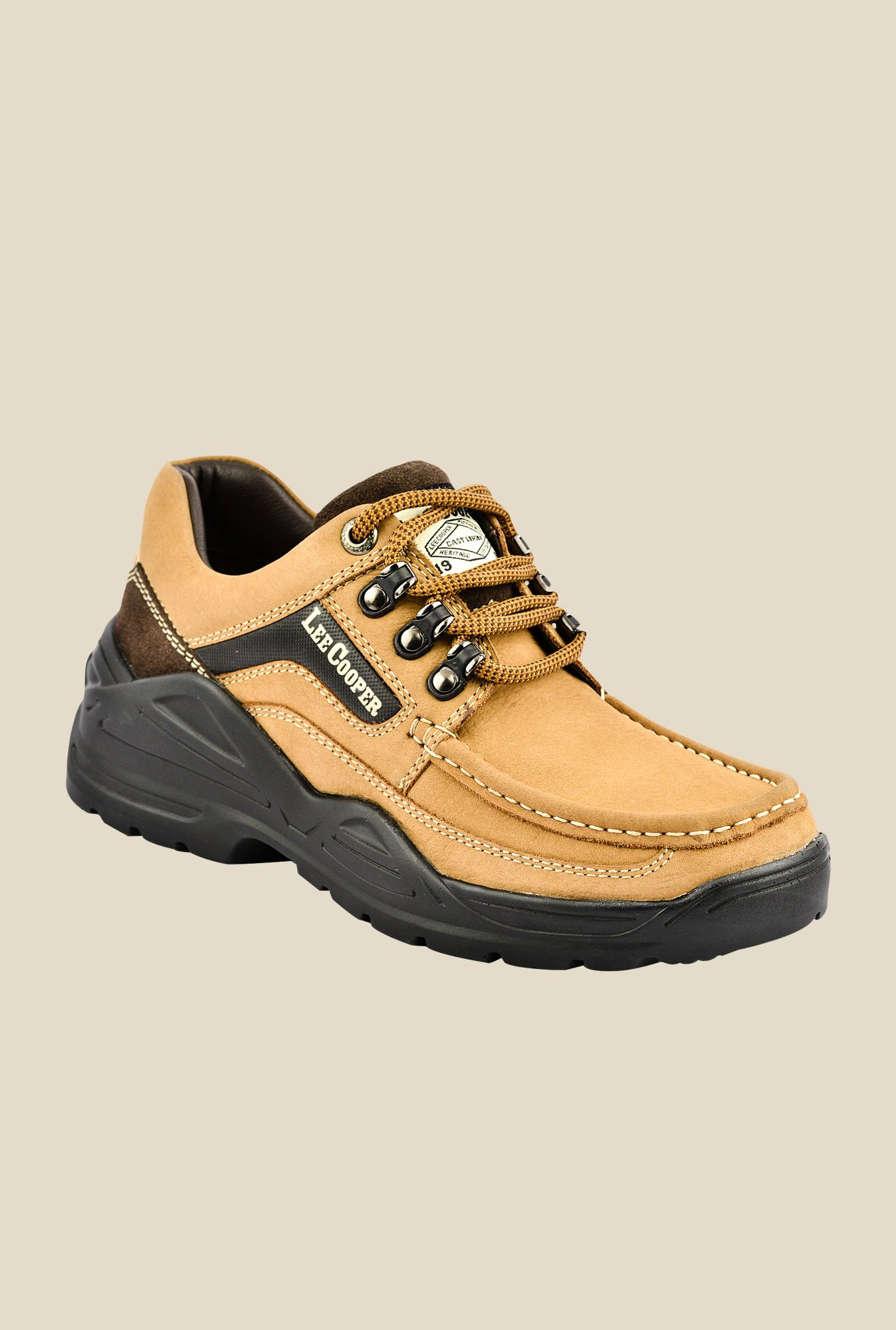 Lee Cooper Camel Casual Shoes