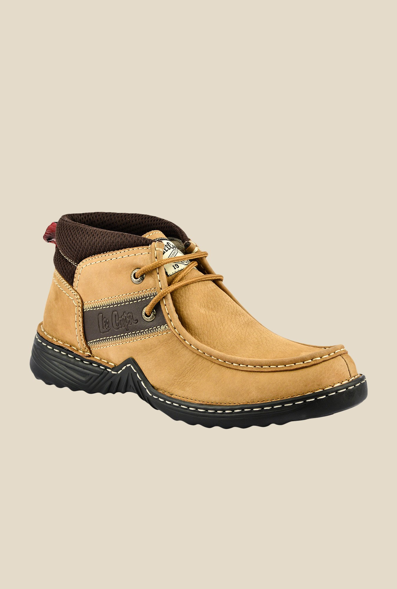 Lee Cooper Camel Casual Boots