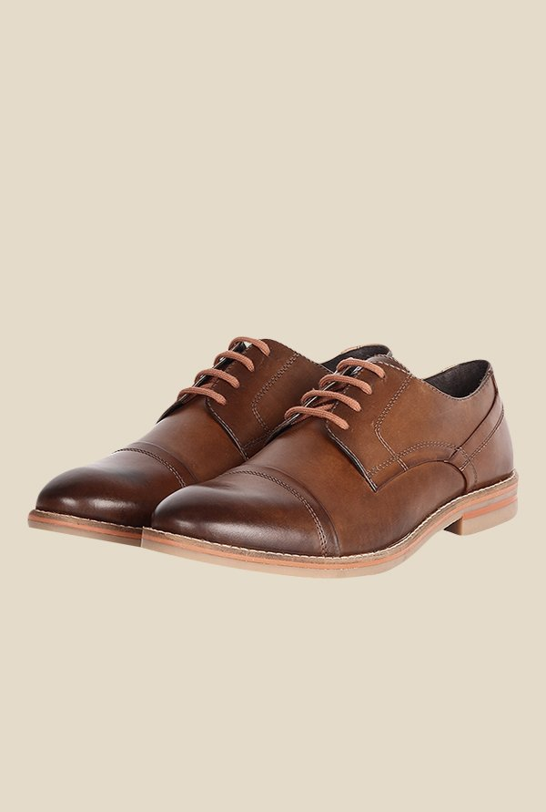 Toni Rossi Tan Derby Shoes