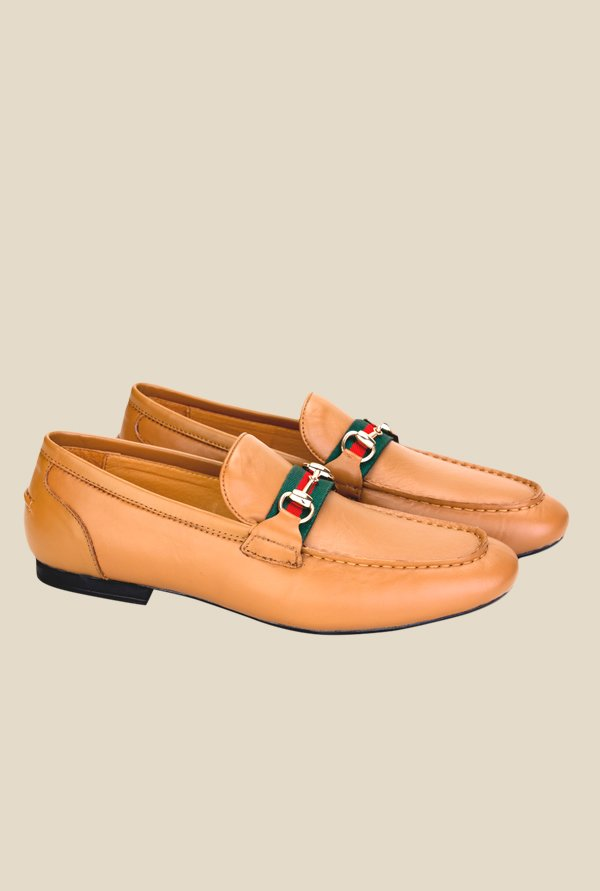 Tresmode Tan Casual Loafers