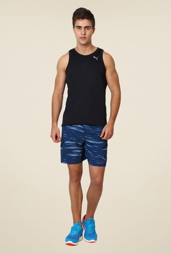 Puma Black Sleeveless Singlet