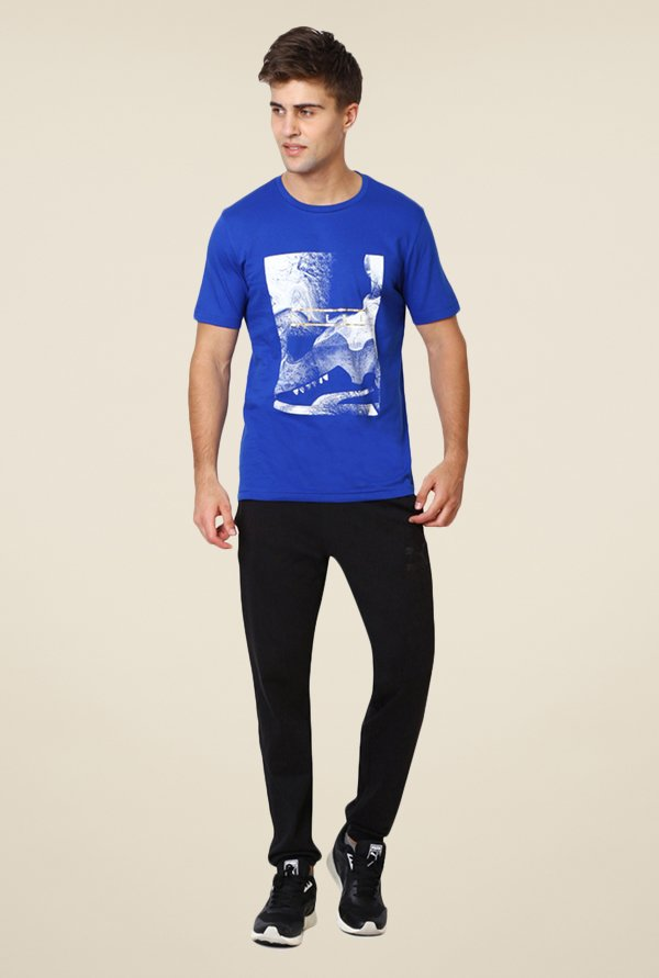 Puma Blue Graphic T-shirt