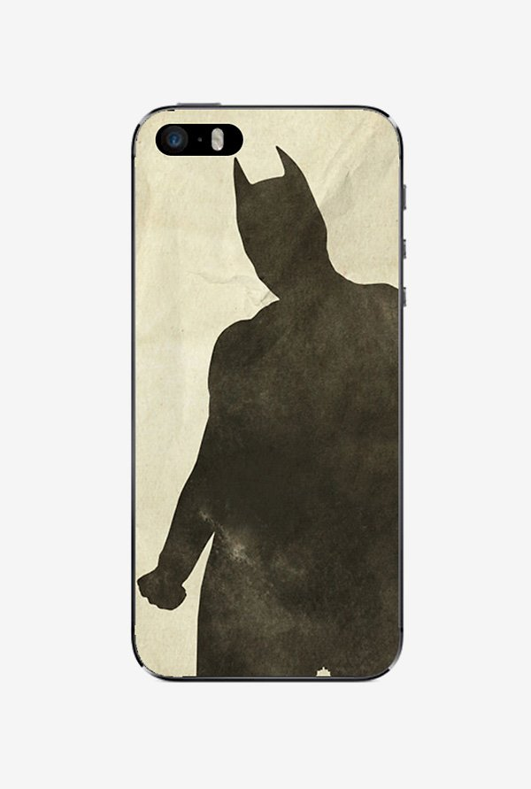 Ziddi BATMAN Hard Back Cover for iPhone 5S (Multi)