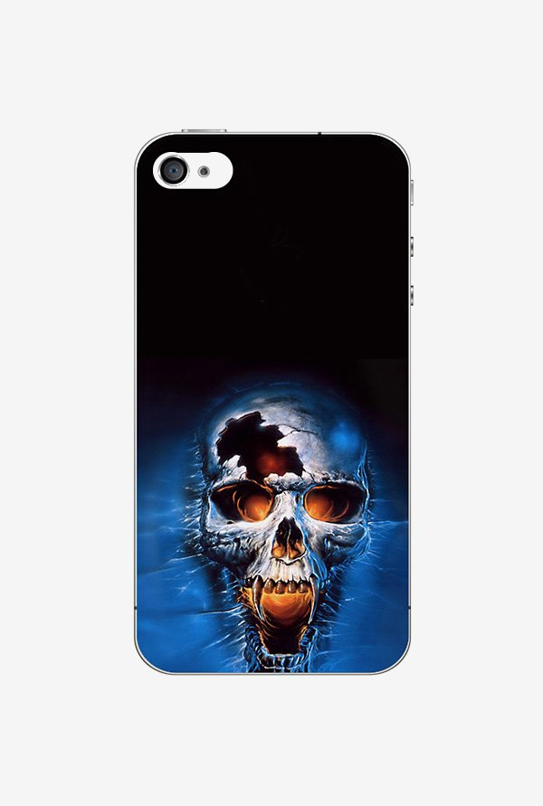 Ziddi ANGRYSKUL Hard Back Cover for iPhone 4S (Multi)