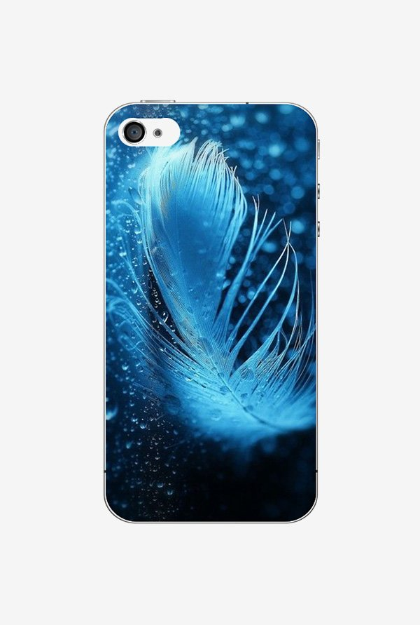 Ziddi BLUFETHR Hard Back Cover for iPhone 4S (Multi)