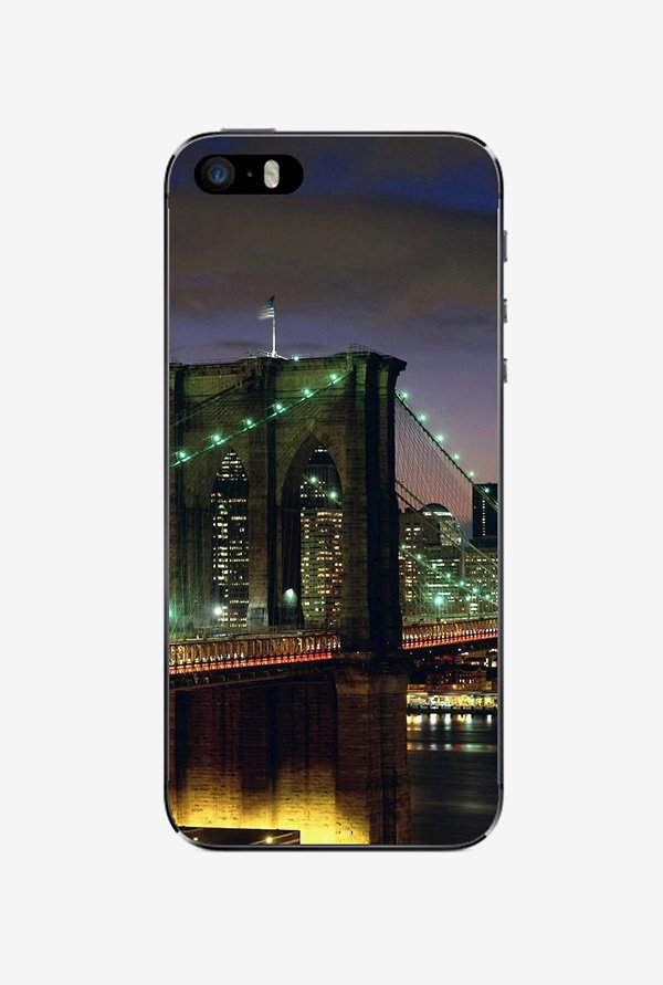 Ziddi BRIDGE Hard Back Cover for iPhone 5 (Multi)