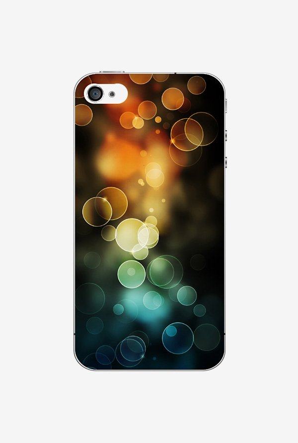 Ziddi BBLEFFCTD Hard Back Cover for iPhone 4 (Multi)