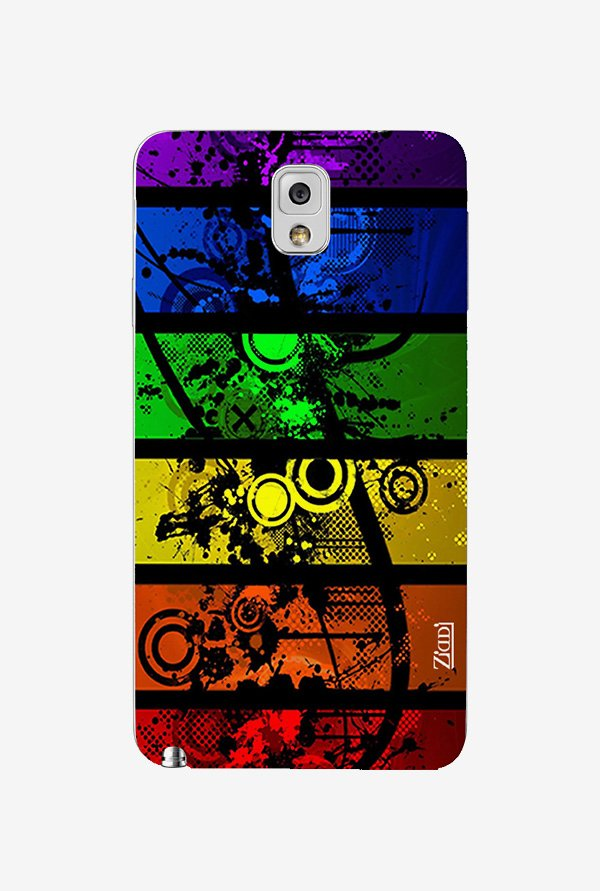 Ziddi COLORSPOTS Hard Back Cover for Galaxy Note 3 (Multi)