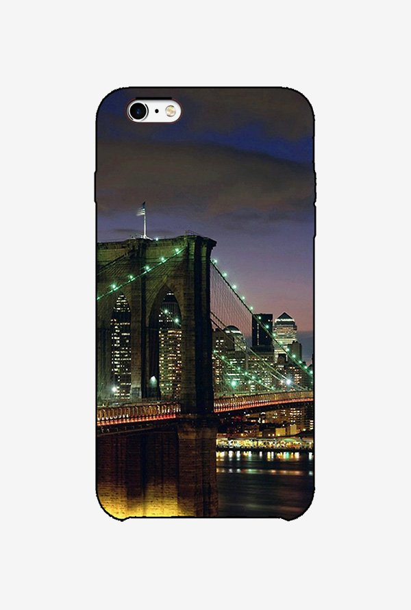 Ziddi BRIDGE Hard Back Cover for iPhone 6 (Multi)