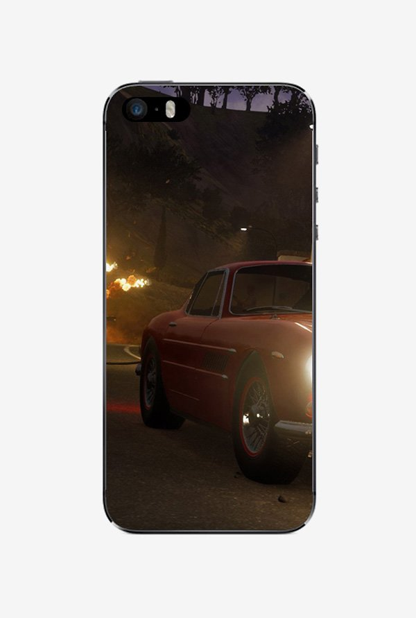 Ziddi CARFIRE Hard Back Cover for iPhone 5S (Multi)