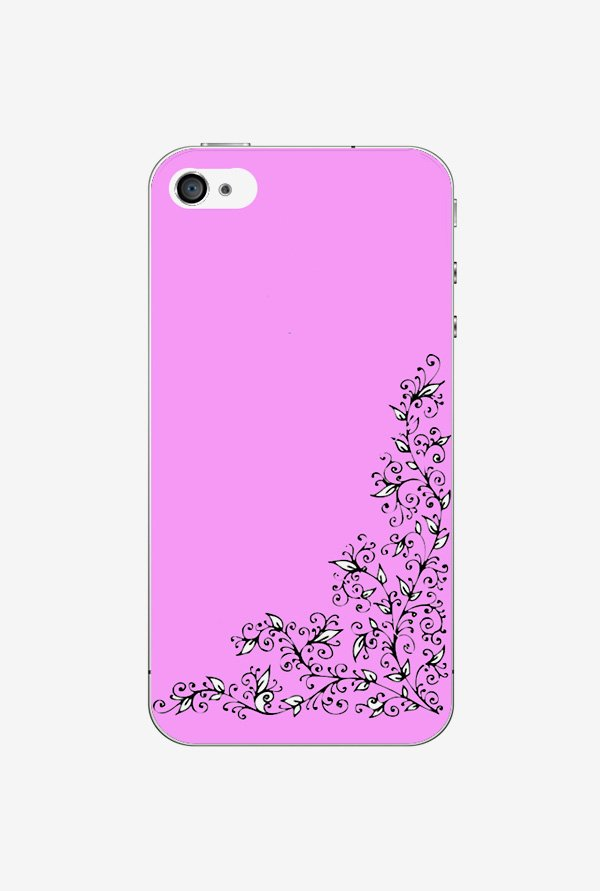 Ziddi DSGNPIN Hard Back Cover for iPhone 4 (Multi)