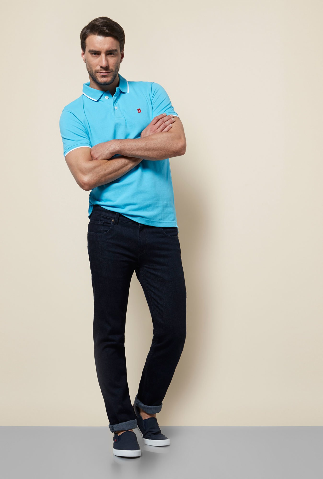 Provogue Aqua Polo T Shirt