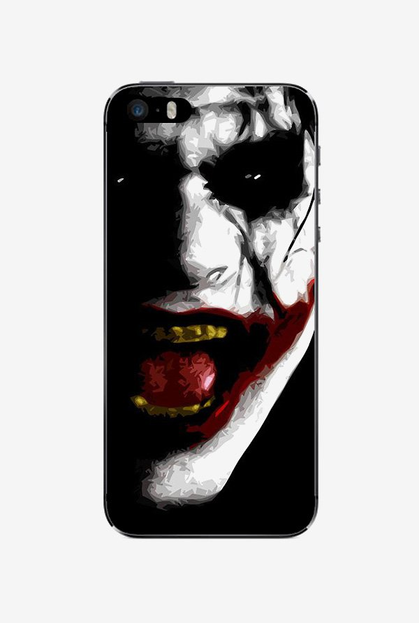 Ziddi JOKER Hard Back Cover for iPhone 5S (Multi)