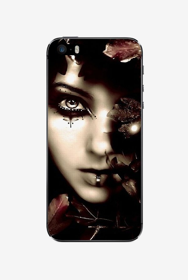 Ziddi MAMA Hard Back Cover for iPhone 5 (Multi)
