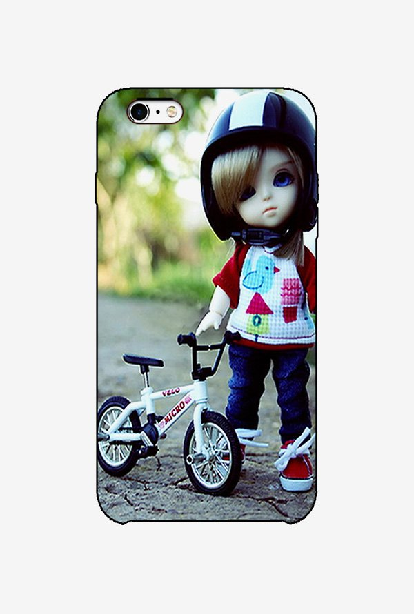 Ziddi KDCYCLE Hard Back Cover for iPhone 6 (Multi)