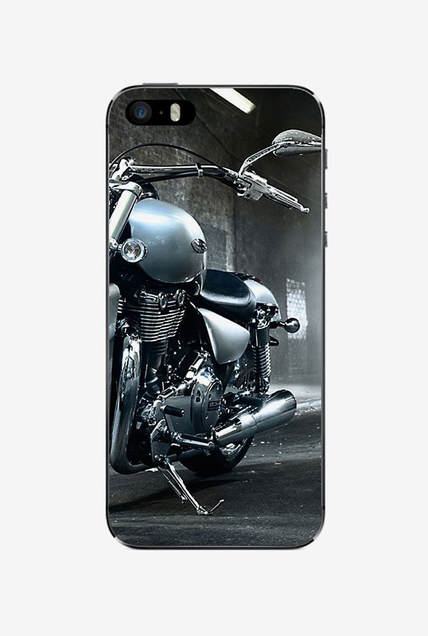 Ziddi HARLEY Hard Back Cover for iPhone 5S (Multi)