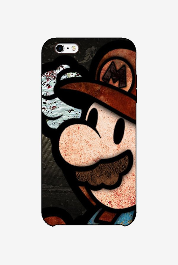 Ziddi MARIO Hard Back Cover for iPhone 6S (Multi)