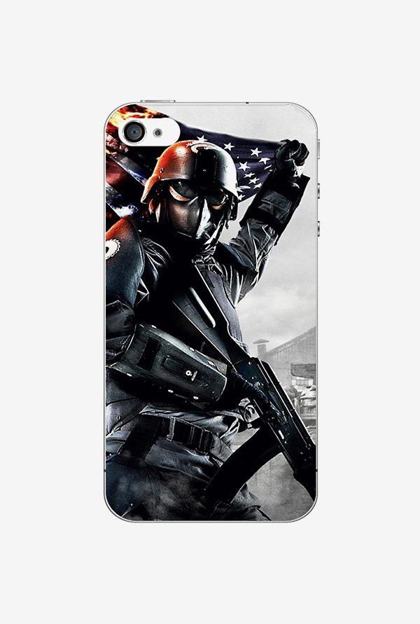 Ziddi MASKFIGHTR Hard Back Cover for iPhone 4S (Multi)