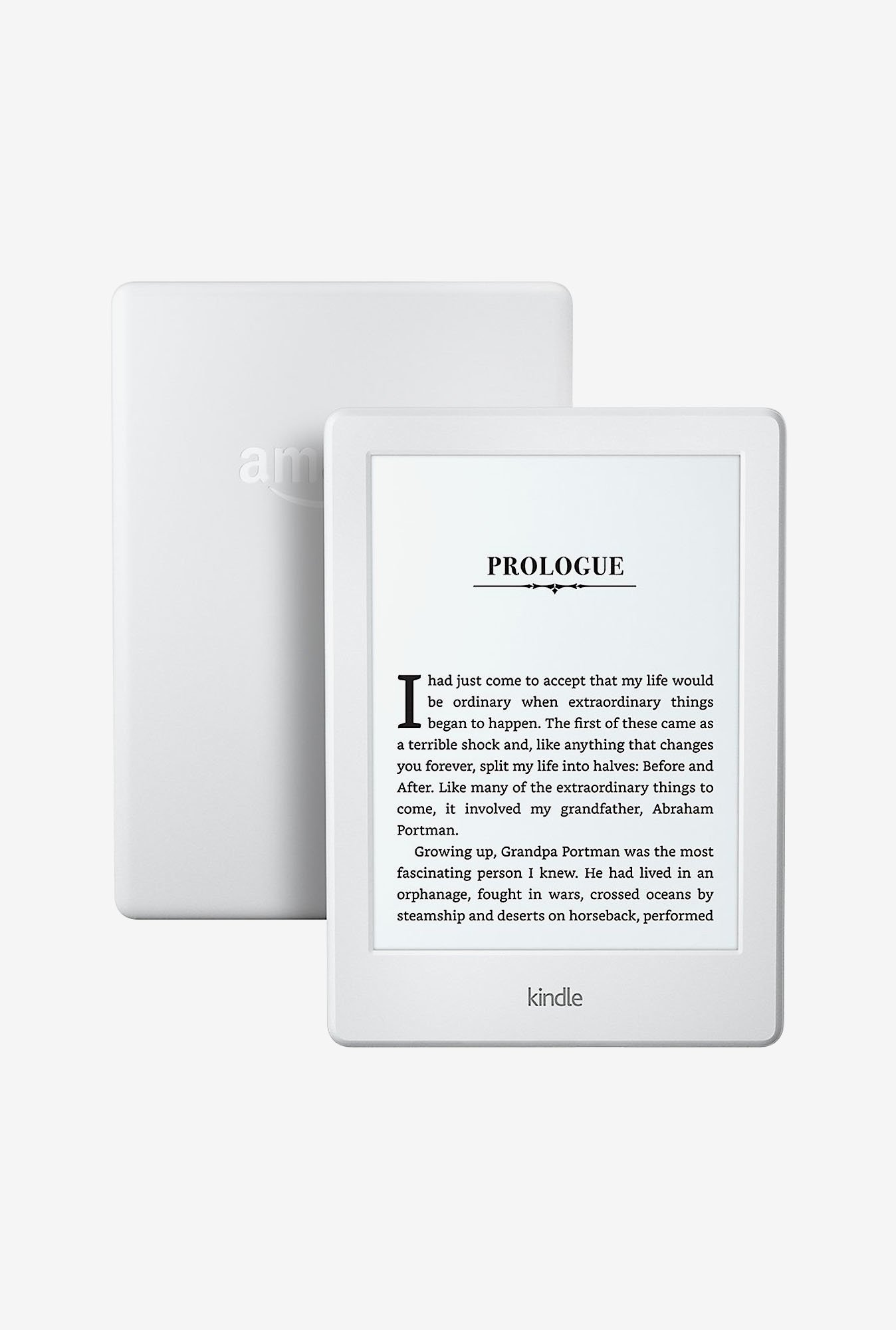 All New Kindle Basic (White)
