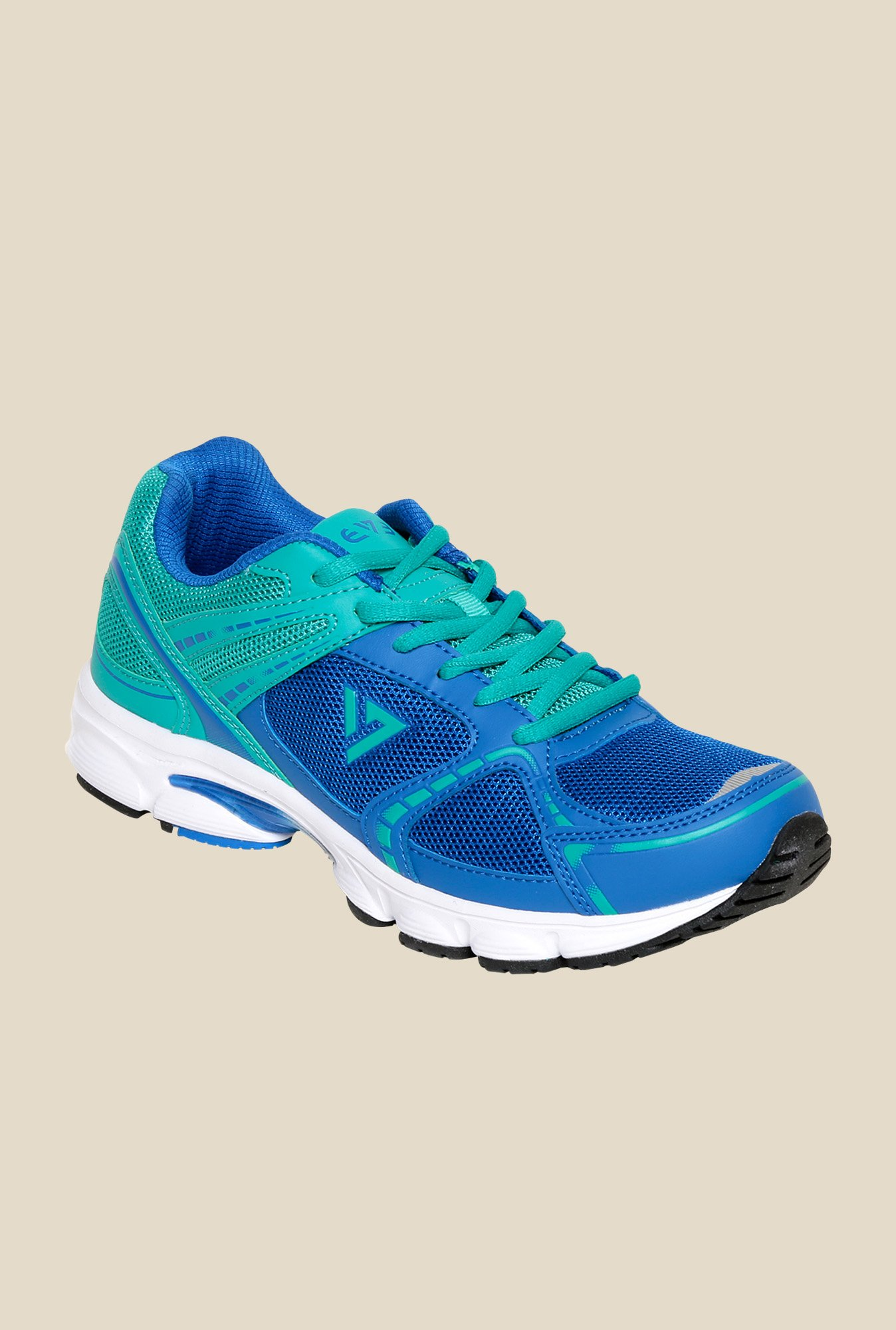 Seven Aztec Nautical Blue & Ceramic Running Shoes