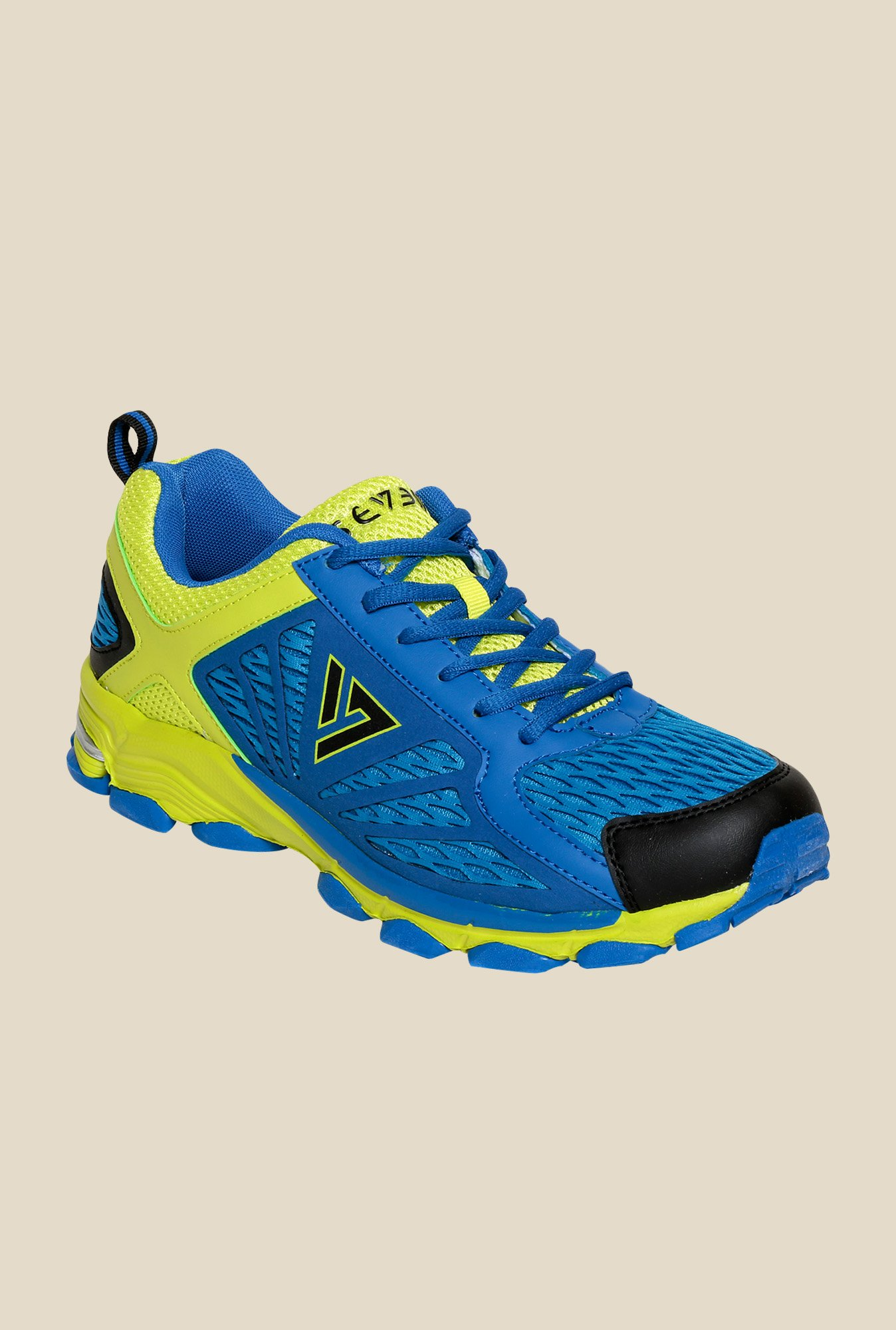 Seven Hogun Blue Atoll & Buttercup Running Shoes